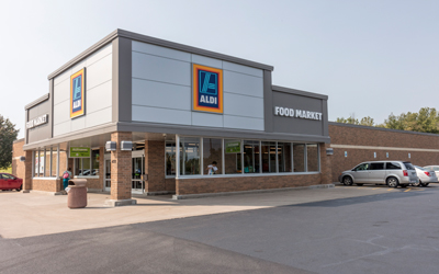 ALDI Brockport Renovation Complete