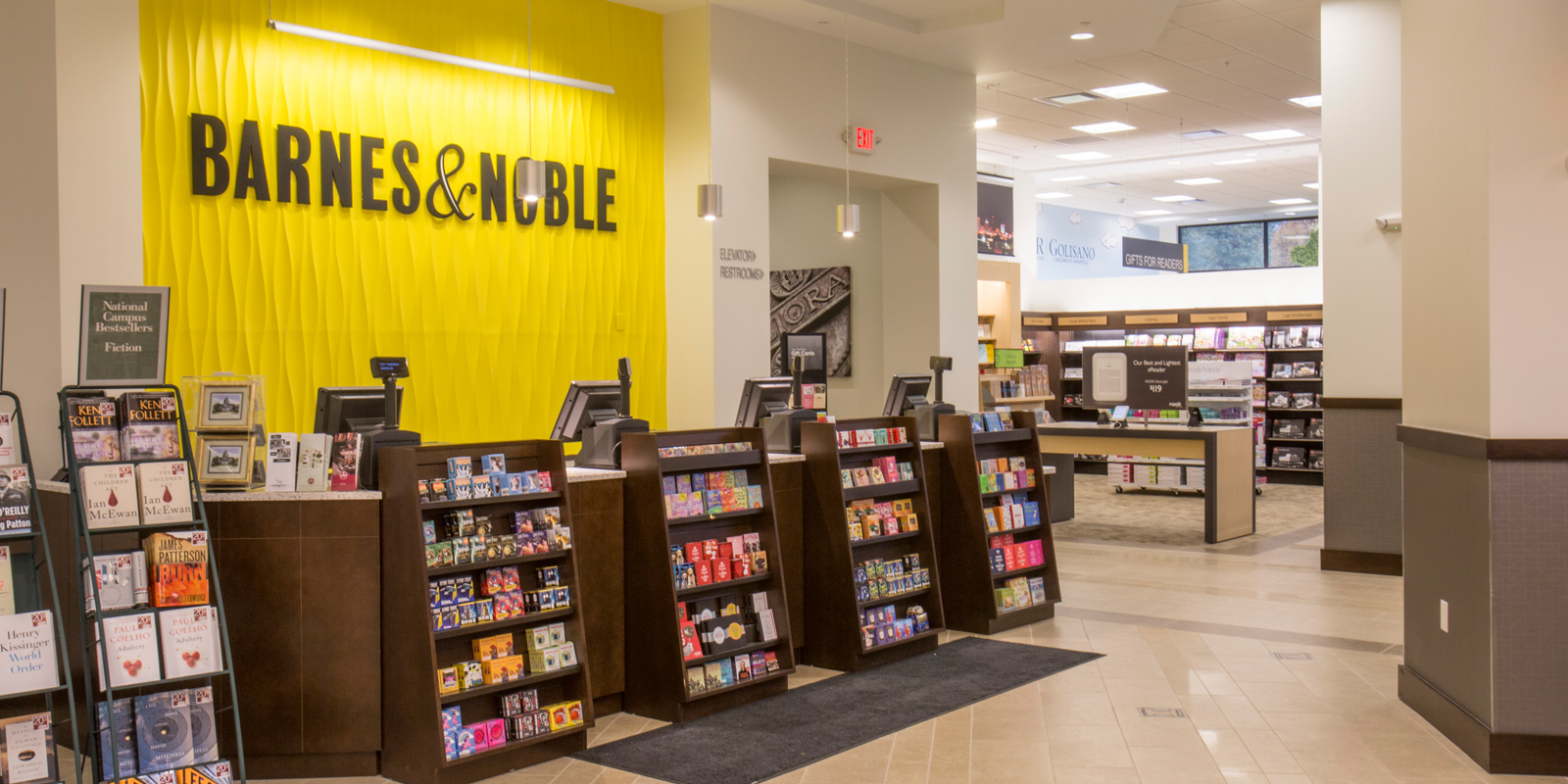Barnes and Noble College Bookstore | Empire Commercial Construction