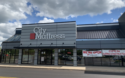 New Look For City Mattress Penfield Nears Completion